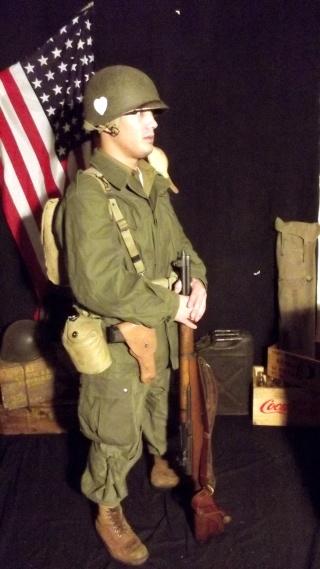 Soldat Parachutiste US Typique Campagne de Hollande dit : Tenue M43 Dscf4024