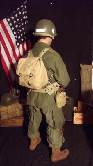 Soldat Parachutiste US Typique Campagne de Hollande dit : Tenue M43 Dscf4025