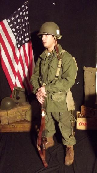 Soldat Parachutiste US Typique Campagne de Hollande dit : Tenue M43 Dscf4027