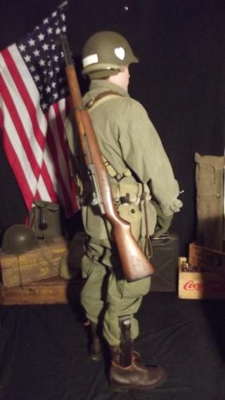 Soldat Parachutiste US Typique Début Bataille des Ardennes 1944/1945 Dscf4029