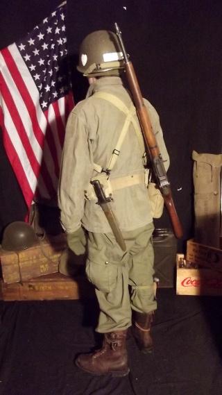 Soldat Parachutiste US Typique Début Bataille des Ardennes 1944/1945 Dscf4030