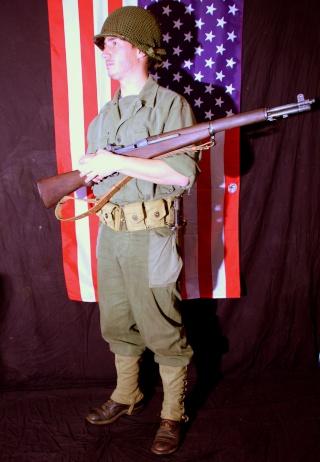 """Soldat d'infanterie US Typique débarquement , Campagne de Normandie dit : """"Tenue HBT"""" Img_2410"""