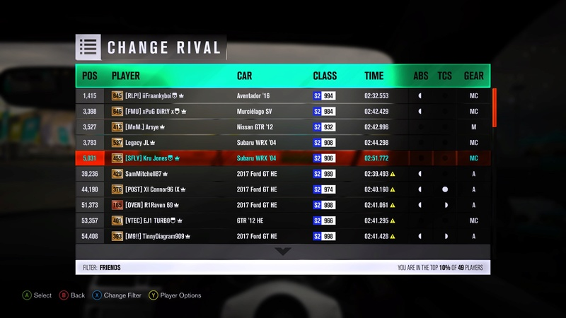 FH3 Time Attack | Grand High Speed Sprint - 500HP (FWD/RWD/AWD) Img_7322