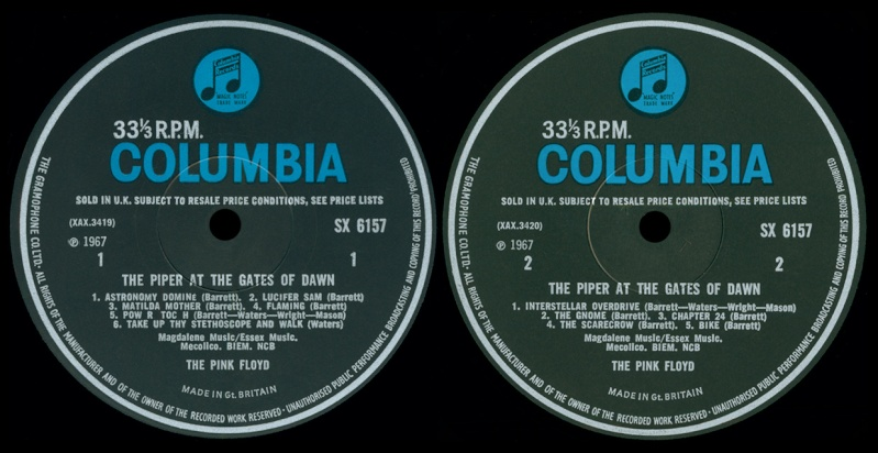 The Piper At The Gates Of Dawn Labels10