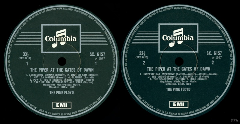 The Piper At The Gates Of Dawn Labels11