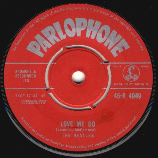 Love Me Do/P.S. I Love You R4949-10