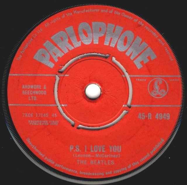Love Me Do/P.S. I Love You R4949-18