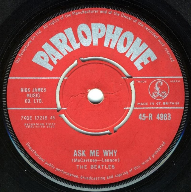 Please Please Me/Ask Me Why R4983-11