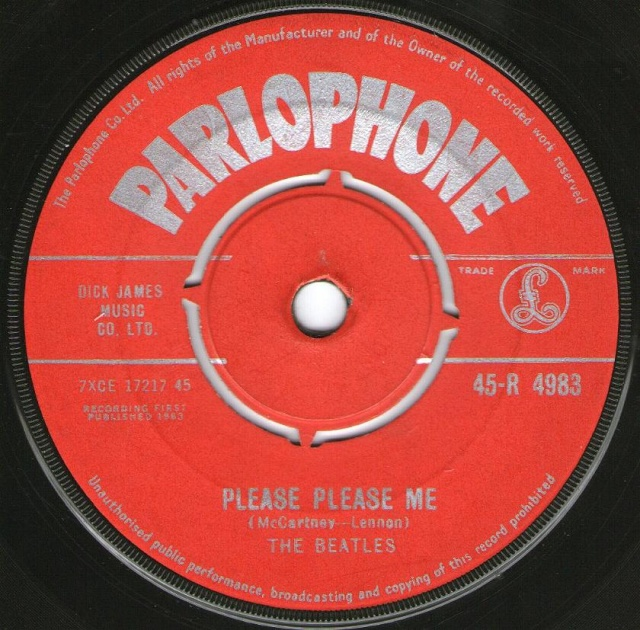 Please Please Me/Ask Me Why R4983-12