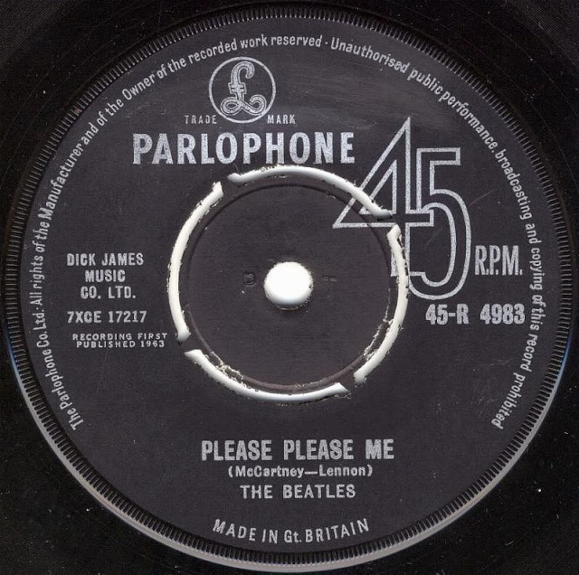 Please Please Me/Ask Me Why R4983-14