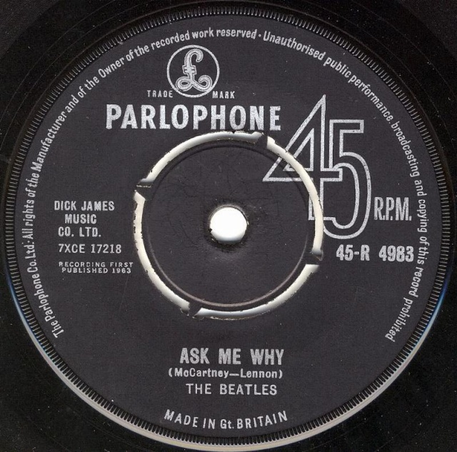 Please Please Me/Ask Me Why R4983-15