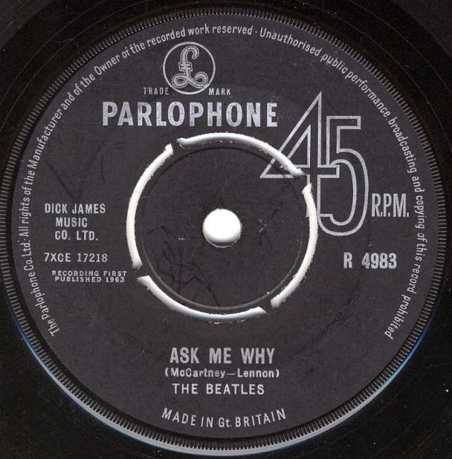 Please Please Me/Ask Me Why R4983-17