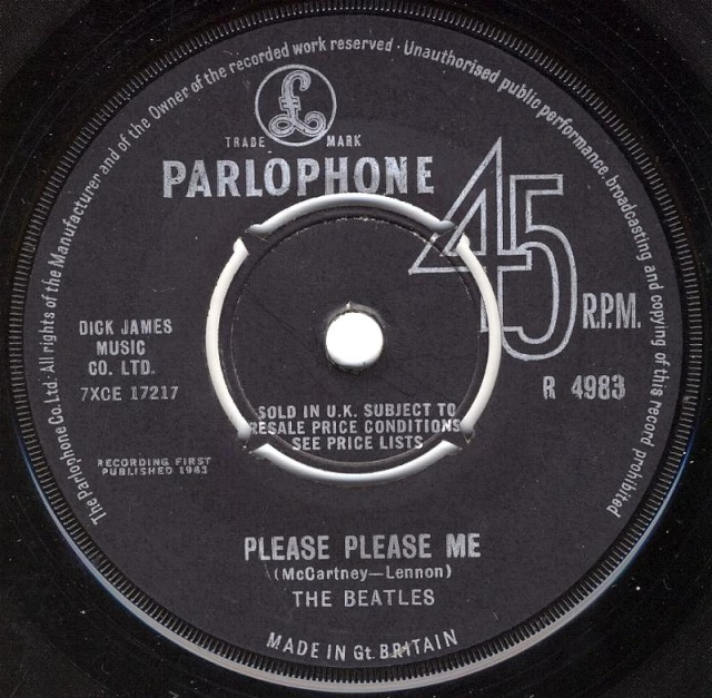 Please Please Me/Ask Me Why R4983-19