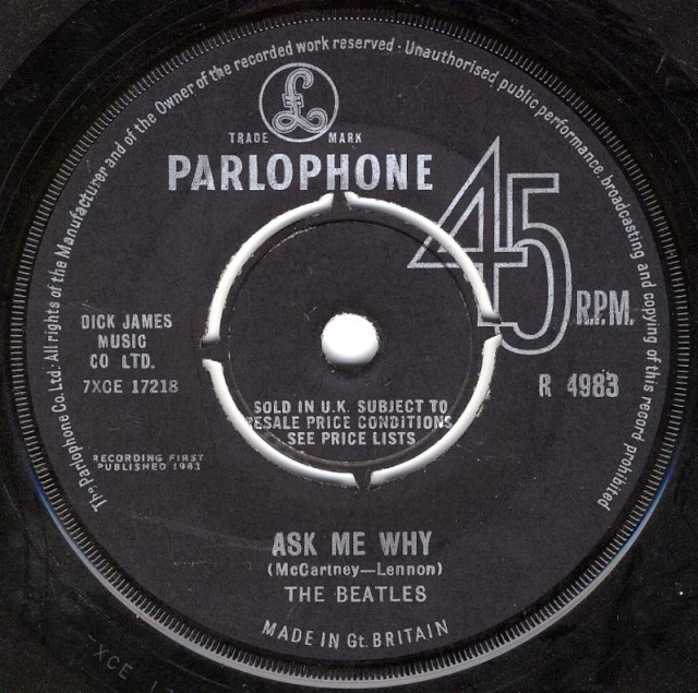 Please Please Me/Ask Me Why R4983-20