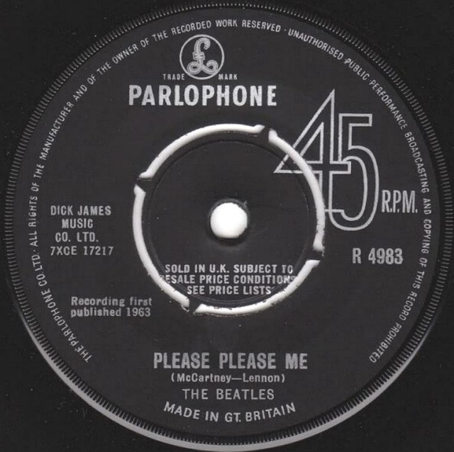 Please Please Me/Ask Me Why R4983-21