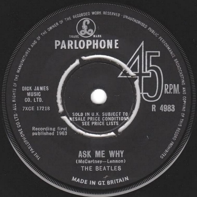 Please Please Me/Ask Me Why R4983-22