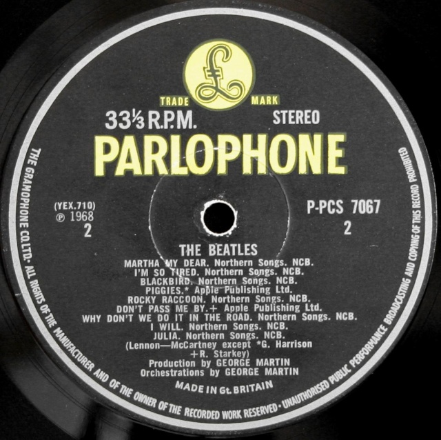 The Beatles (White Album) Wa-ex-12