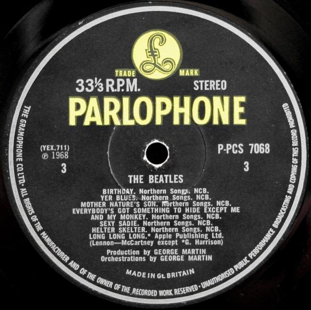 The Beatles (White Album) Wa-ex-13
