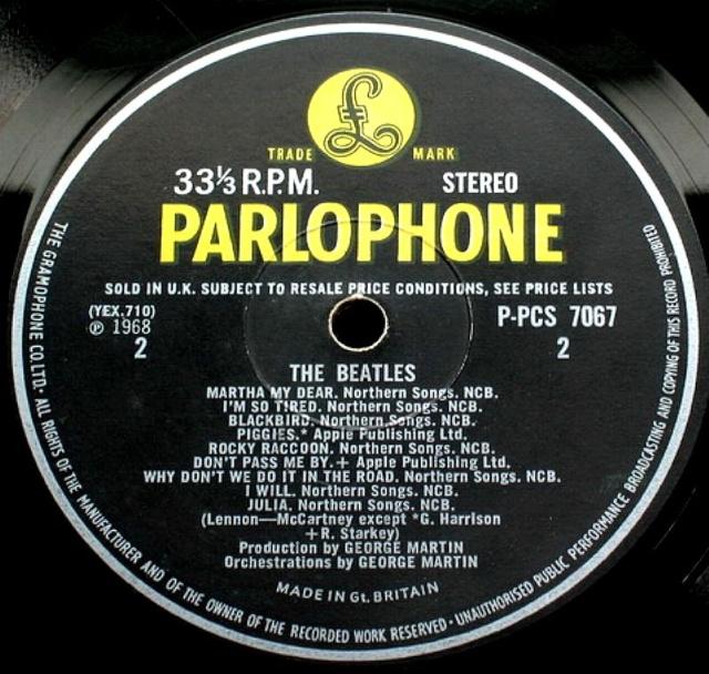 The Beatles (White Album) Wa-ex-17