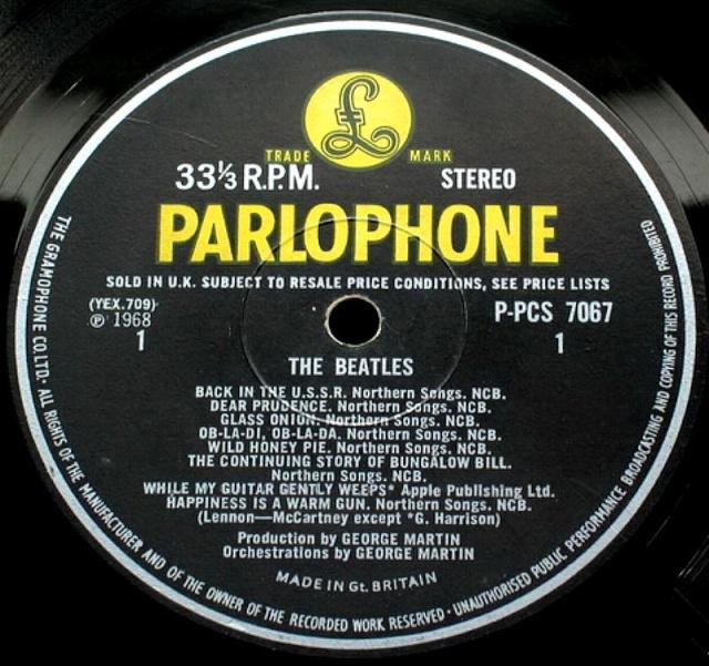 The Beatles (White Album) Wa-ex-19