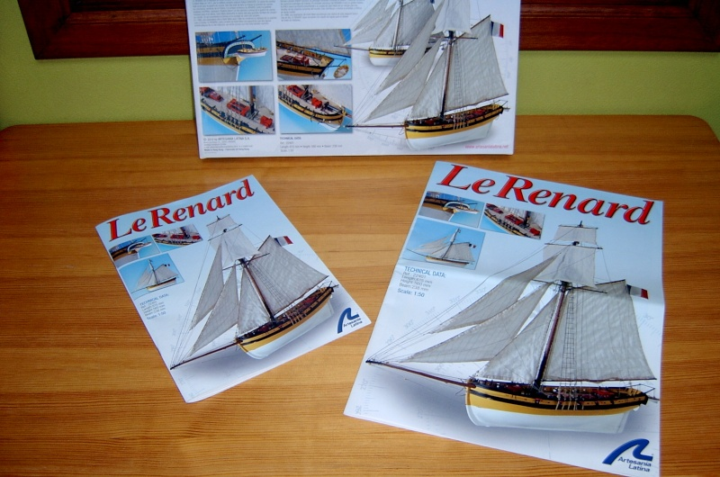 Le Renard AL au 1/50e Sv401340