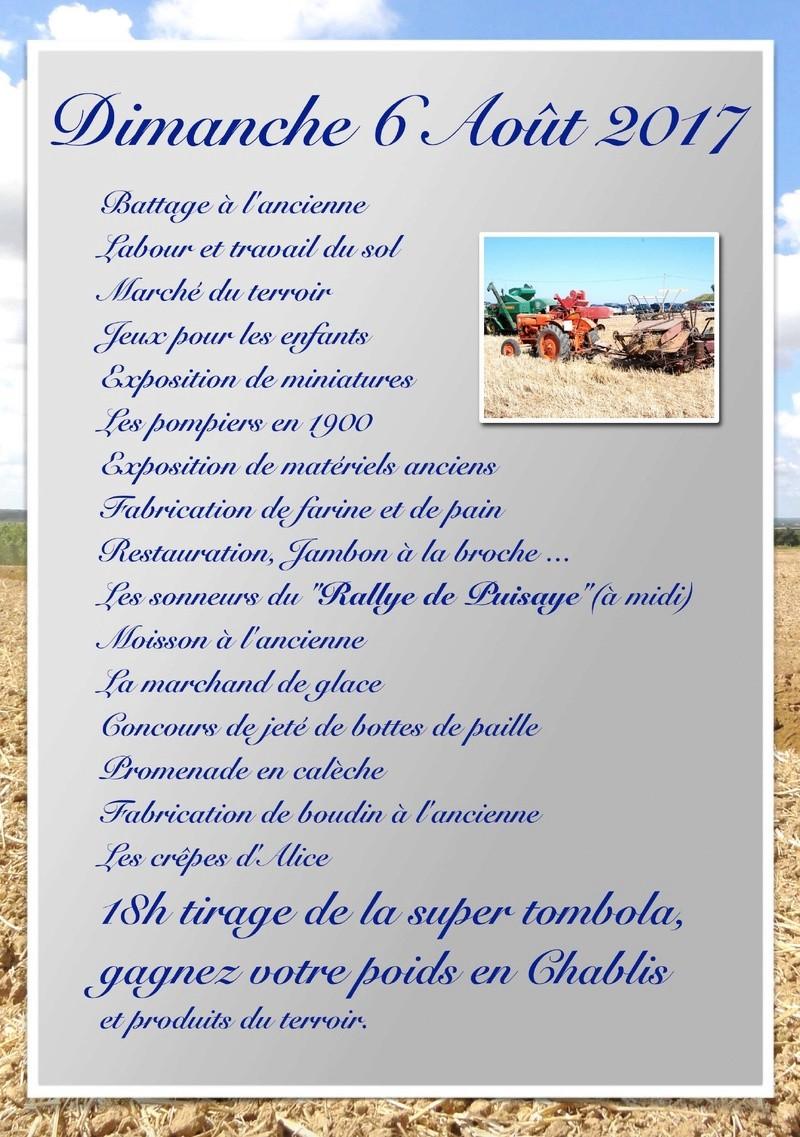 """(45) 4ème Fête de la Moisson: """"le Grand Carrouge d'Antan"""" à Saint Maurice sur Aveyron 2017_s10"""