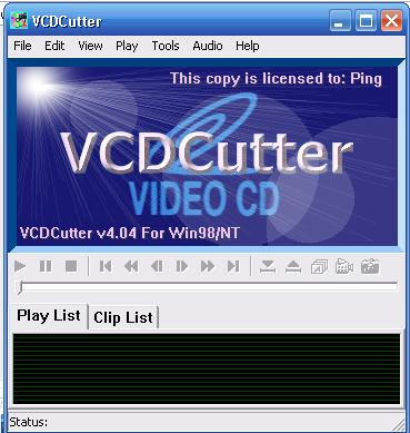 VCD CUTTER 4.04 Full Version Untitl10