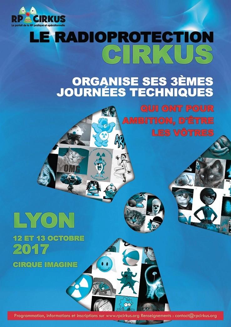 3èmes Journées Techniques du Radioprotection Cirkus Affich10
