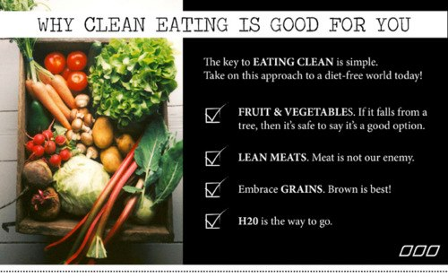 Why Eating Clean is Good For You & Why Buying from a Local grocery store/farm market is better than the Big Supermarket Clean_10