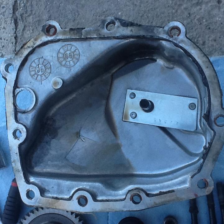 Carter de boîte manuelle cassé sur voyager s3 TD 2000 Image21