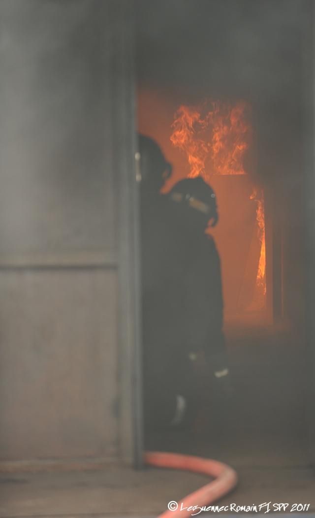 Photo lors de ma Formation d'Intégration de sapeur pompier professionnel. Fi_spp10