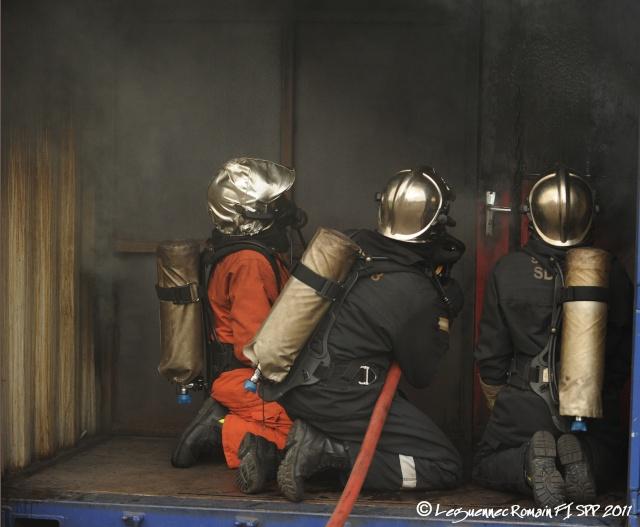 Photo lors de ma Formation d'Intégration de sapeur pompier professionnel. Fi_spp15