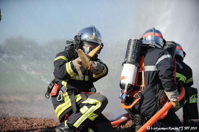 Photo lors de ma Formation d'Intégration de sapeur pompier professionnel. Fi_spp19