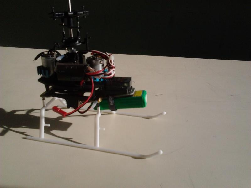 modification support de train/porte batterie en fibre 2013-012