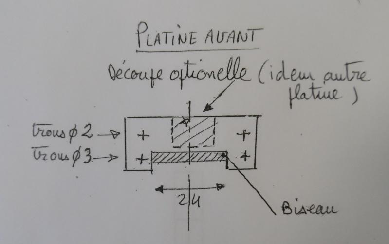 modification support de train/porte batterie en fibre Platin10