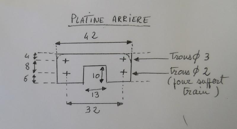 modification support de train/porte batterie en fibre Platin12