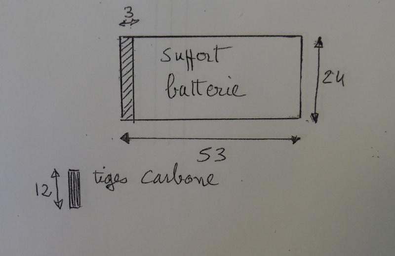modification support de train/porte batterie en fibre Suppor10