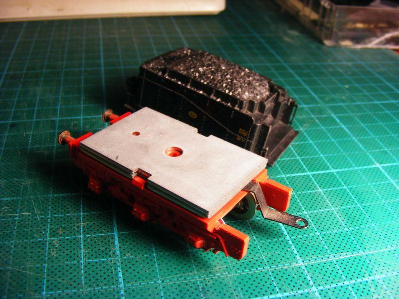 Tender pr. 3T12 - Metamorphose zum Wasserwagen Dscf7413