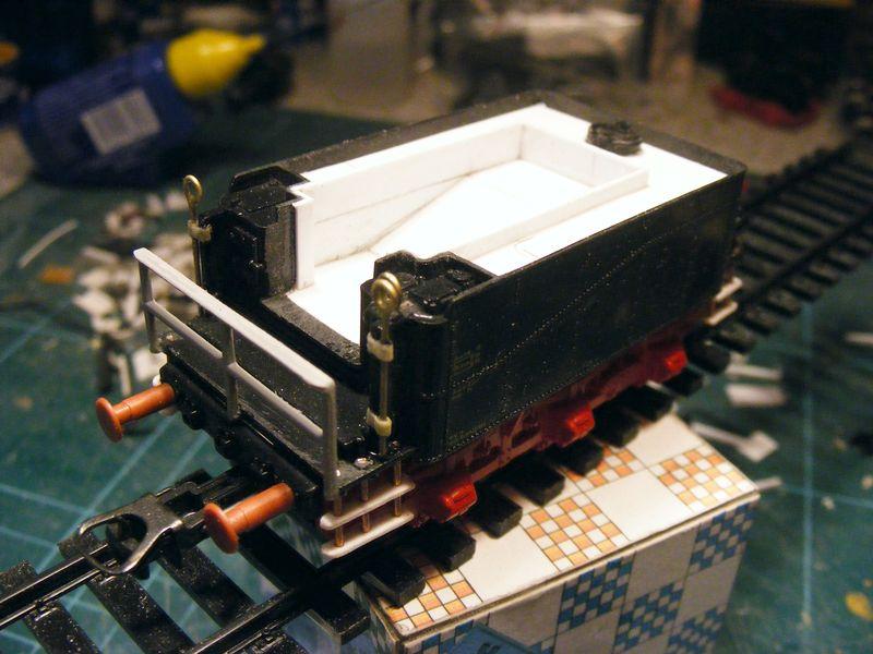 Tender pr. 3T12 - Metamorphose zum Wasserwagen Dscf7431