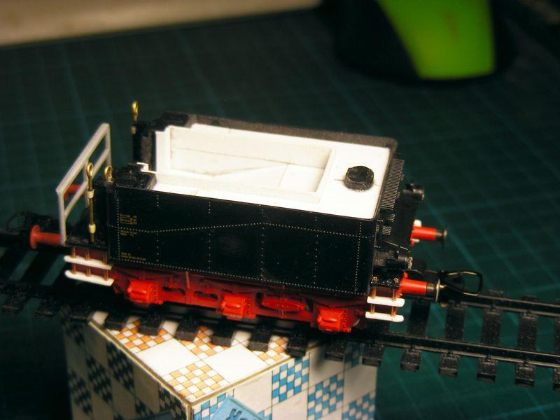 Tender pr. 3T12 - Metamorphose zum Wasserwagen Dscf7433