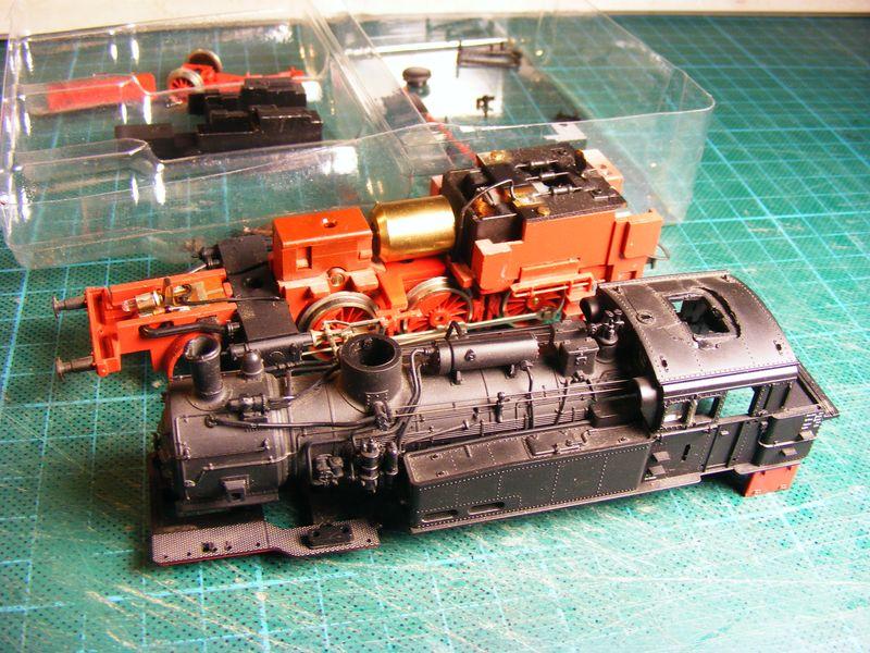 BR 74.4 - 13 (pr. T12) mit zusätzlichem Wasserwagen. Dscf7436