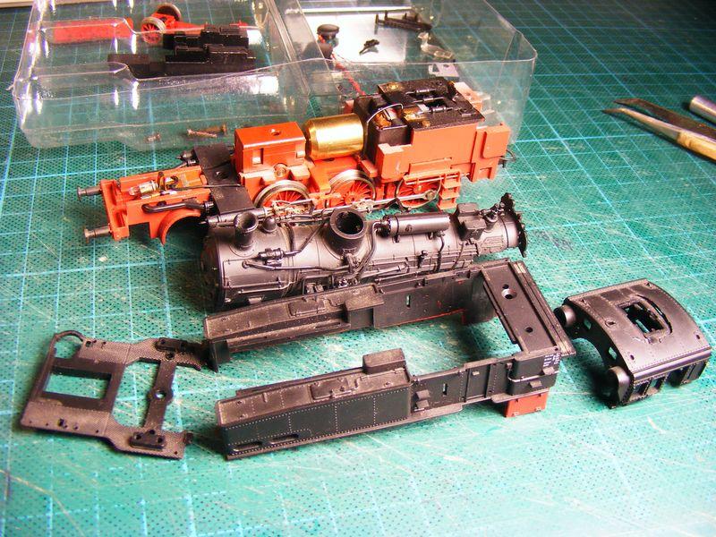 BR 74.4 - 13 (pr. T12) mit zusätzlichem Wasserwagen. Dscf7437