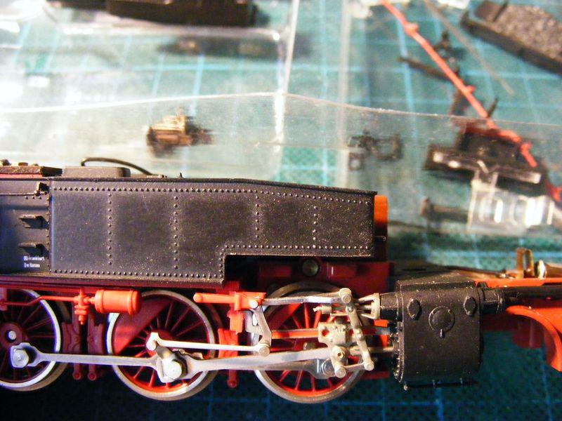 BR 74.4 - 13 (pr. T12) mit zusätzlichem Wasserwagen. Dscf7439