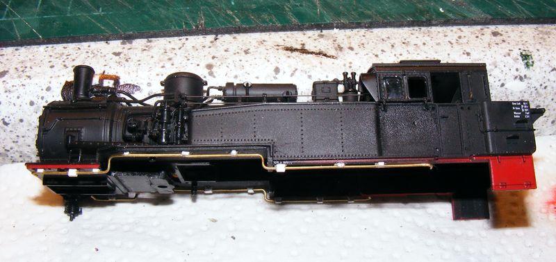 BR 74.4 - 13 (pr. T12) mit zusätzlichem Wasserwagen. Dscf7513