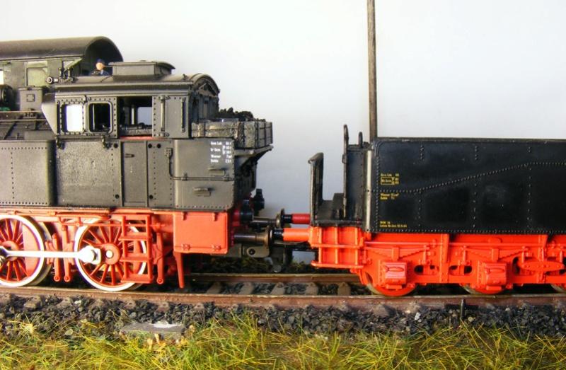 BR 74.4 - 13 (pr. T12) mit zusätzlichem Wasserwagen. Dscf7525