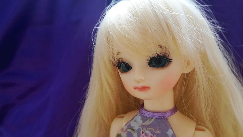 Mon premier make-up ~ [Latidoll Blue Yern] Tita_410