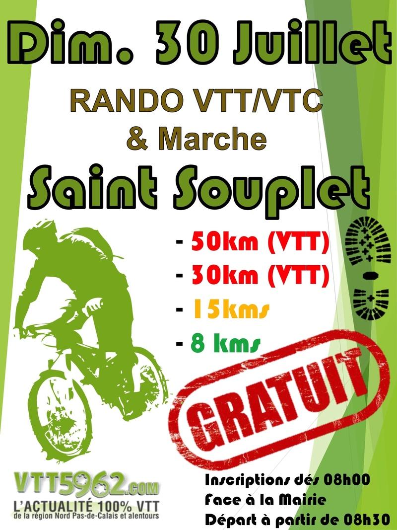 Rando SAINT SOUPLET - Dimanche 30 Juillet Affich10