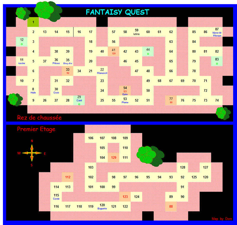 FANTASY QUEST - Solution Map_fa10