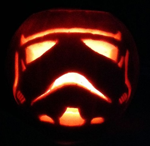THE 3rd ANNUAL TXI STAR WARS PUMPKIN CARVING CONTEST P110