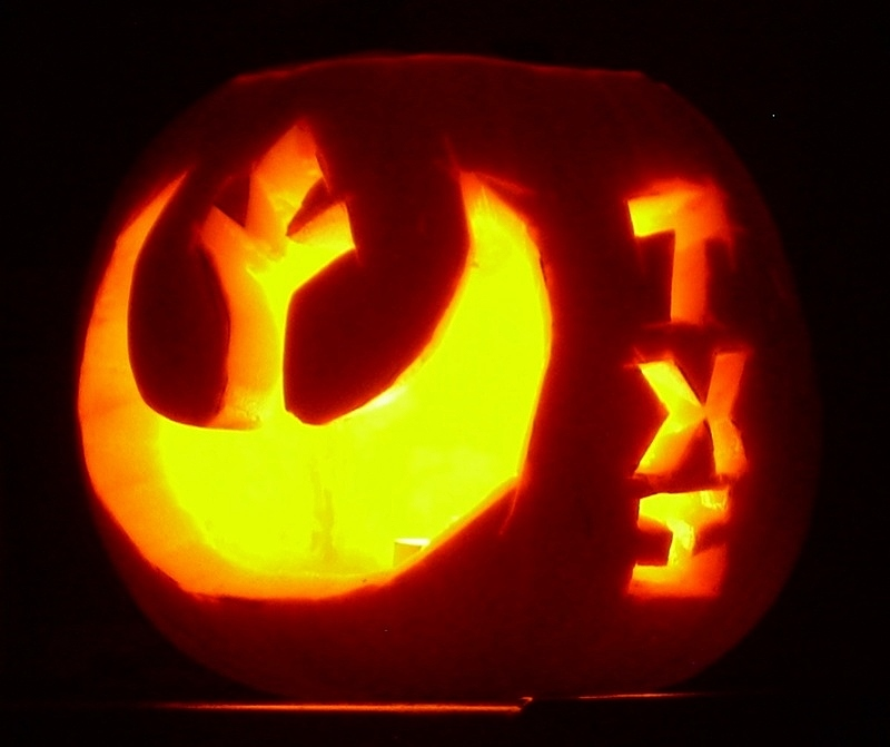 THE SECOND ANNUAL TXI STAR WARS PUMPKIN CARVING CONTEST P410